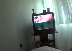 Me&amp_neighbor Mrs Chawla-shower to bed&amp_sofa obeying porn movie multi sessions