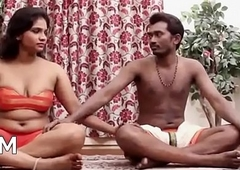 Indian Couple'_s Sensual Yoga Hot Sex Photograph [HD] - PORNMELA.COM