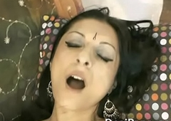 Clean Shaven Indian Pussy Strike one Fucked