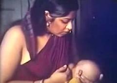 Desi bhabhi milk feeding clasp scene scene
