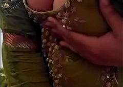 Sexy Desi Indian Baby stripped herself, shaking the brush undecorated Boobs be profitable for lover on Webcam