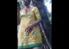 Desi bangali bhabi outdoor fuck