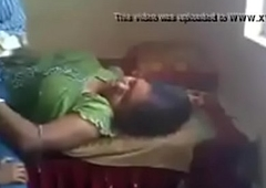 VID-20190502-PV0001-Ongole (IAP) Telugu 37 yrs aged married housewife aunty boobs pressed by her 40 yrs aged married husband in cot sex porn video