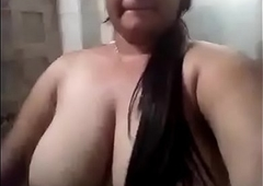Desi Lord it over Girl Unvarnished Selfie Hot Video