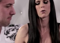 Bar stepmom seduces a licentious stepson
